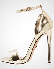 Lost Ink RAULA Sandaler med høye hæler gold