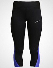 Nike Performance RACER Tights black/paramount blue/reflective silver