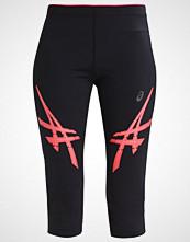 Asics 3/4 sports trousers performance black/diva pink