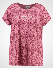 Zizzi Tshirts med print heather rose