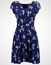 Dorothy Perkins Petite BUTTERFLY FLORAL  Strikket kjole navy