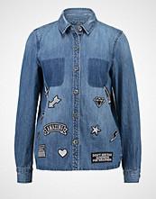 Only ONLBECH Skjorte medium blue denim