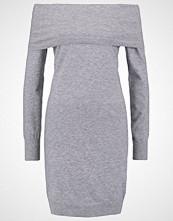 Vero Moda VMVICKY Strikket kjole light grey melange