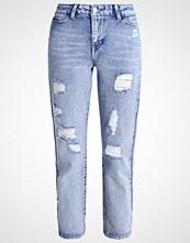 Even&Odd Straight leg jeans light blue denim