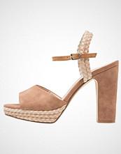 Anna Field Sandaler med høye hæler wood