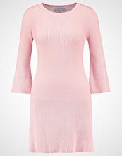 Lost Ink Strikket kjole light pink