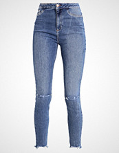 New Look VANESSA BUST Jeans Skinny Fit mid blue