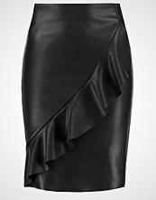 Vero Moda VMRUFFLE SHANE Blyantskjørt black beauty