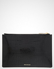 Whistles Clutch black
