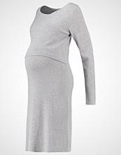 Mamalicious MLALEXANDRA Strikket kjole light grey melange