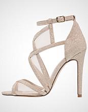 Anna Field Sandaler med høye hæler gold glitter