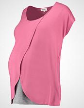 Zalando Essentials Maternity Tshirts med print dark rose/mid grey