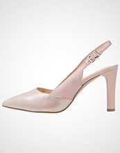 Caprice Klassiske pumps rose metallic