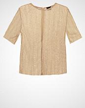 Selected Femme SFNUNE Tshirts med print gold