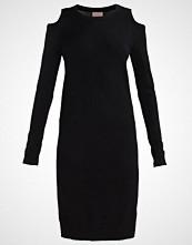 Vero Moda VMSAMANTHA Strikket kjole black beauty