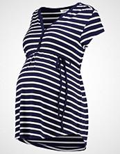 Zalando Essentials Maternity Tshirts med print offwhite/dark blue