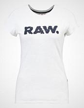G-Star GStar SAAL SLIM R T S/S Tshirts med print white