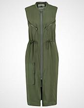 G-Star GStar POWEL CRUSADER ZIP SHIRT DRESS S/LESS Sommerkjole darkk bronze green