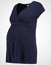Zalando Essentials Maternity Tshirts med print dark blue/offwhite