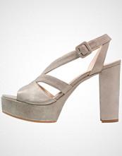 Unisa VISTOR Sandaler med høye hæler metallic/mumm