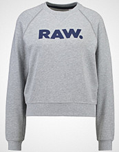 G-Star GStar XULA ART STRAIGHT R SW L/S Genser grey heather