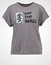 Vans TROPICAL LOCK UP Tshirts med print grey heather