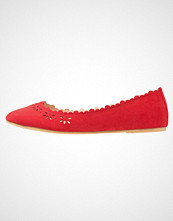Anna Field Ballerina red