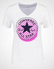 Converse Tshirts med print white