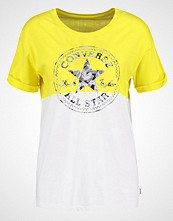 Converse Tshirts med print fresh yellow