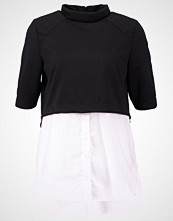 Noisy May NMYASI Tshirts med print black/bright white