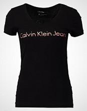 Calvin Klein Tshirts med print black