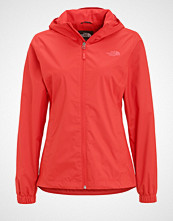 The North Face QUEST Hardshell jacket red