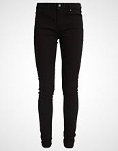 Levi's 711 SKINNY Slim fit jeans black sheep