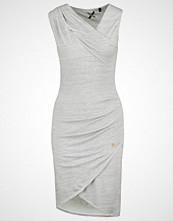 Khujo POSTILLO Strikket kjole light grey melange