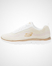 Skechers Sport FLEX APPEAL 2.0 Joggesko white/gold