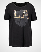 Replay Tshirts med print black