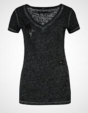 Replay Tshirts med print mottled black
