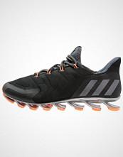 Adidas Performance SPRINGBLADE NANAYA Nøytrale løpesko core black/granite/glow orange