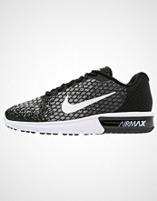 Nike Performance AIR MAX SEQUENT 2 Nøytrale løpesko black/white/dark grey/wolf grey/volt