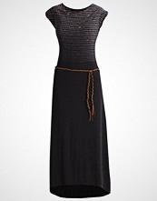 Ragwear TAG LONG Fotsid kjole black melange