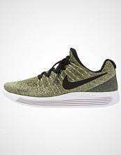 Nike Performance LUNAREPIC FLYKNIT 2 Nøytrale løpesko palm green/black/vapor green/rough green/sunset glow