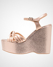 Office WRIGHT Sandaler med høye hæler rose gold