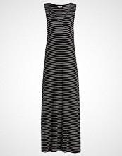 Zalando Essentials Fotsid kjole black/offwhite