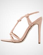 Missguided Sandaler med høye hæler nude
