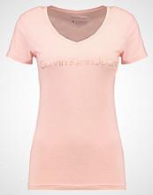 Calvin Klein Tshirts med print pink