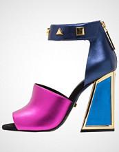 Kat Maconie DARCY Sandaler med høye hæler navy/blue/fuschia