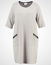 Zizzi EASY SHIFT Strikket kjole grey