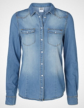 Vero Moda Skjorte light blue denim
