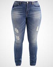 Junarose JRFIVE  Slim fit jeans medium blue denim