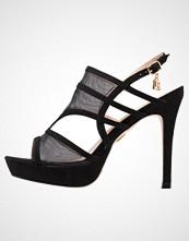 Laura Biagiotti Sandaler med høye hæler black